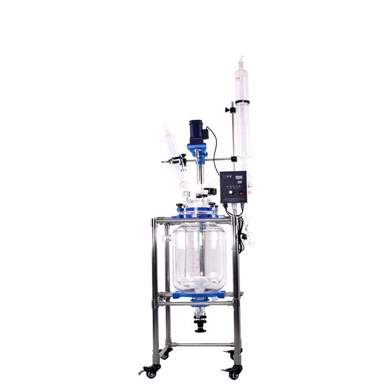 20L框架式双层玻璃反应釜